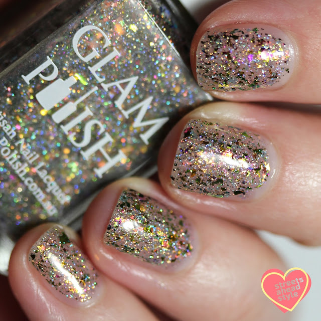 Glam Polish You Are Our Only Hope, Frank 2.0 swatch by Streets Ahead Style
