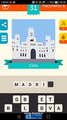 Iconica Italia Pop Logo Quiz soluzione pacchetto 6 livelli 31-100