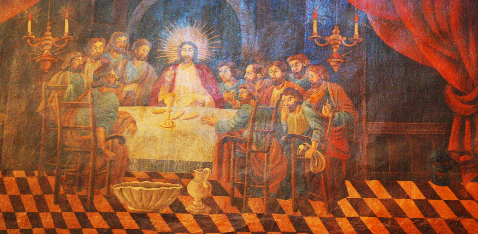 the last supper why the prediction of From malaysiakini's why election predictions are at odds with harapan's  using the last supper analogy jesus had a simple meal of bread and wine and the day after.