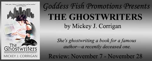 The Ghostwriters by Mickey J. Corrigan