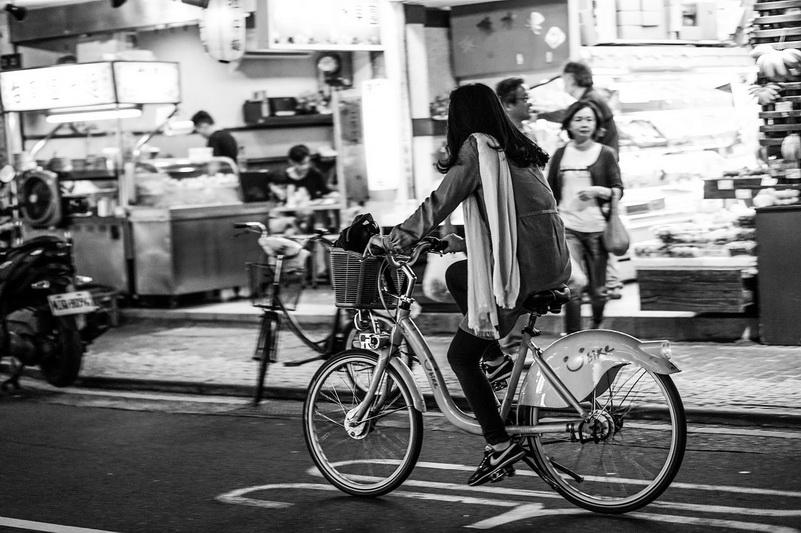 Xe đạp rất phổ biến ở Đài Loan