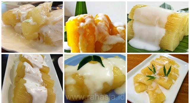 Pernah nyoba makan singkong rebus ala thailand Resep Singkong Thailand Super Enak