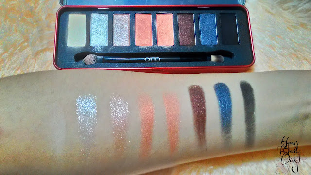 CLIO All That Eye Styler Kit (#002 Walk On The City) Swatch