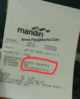 Cara pembayaran di shopee