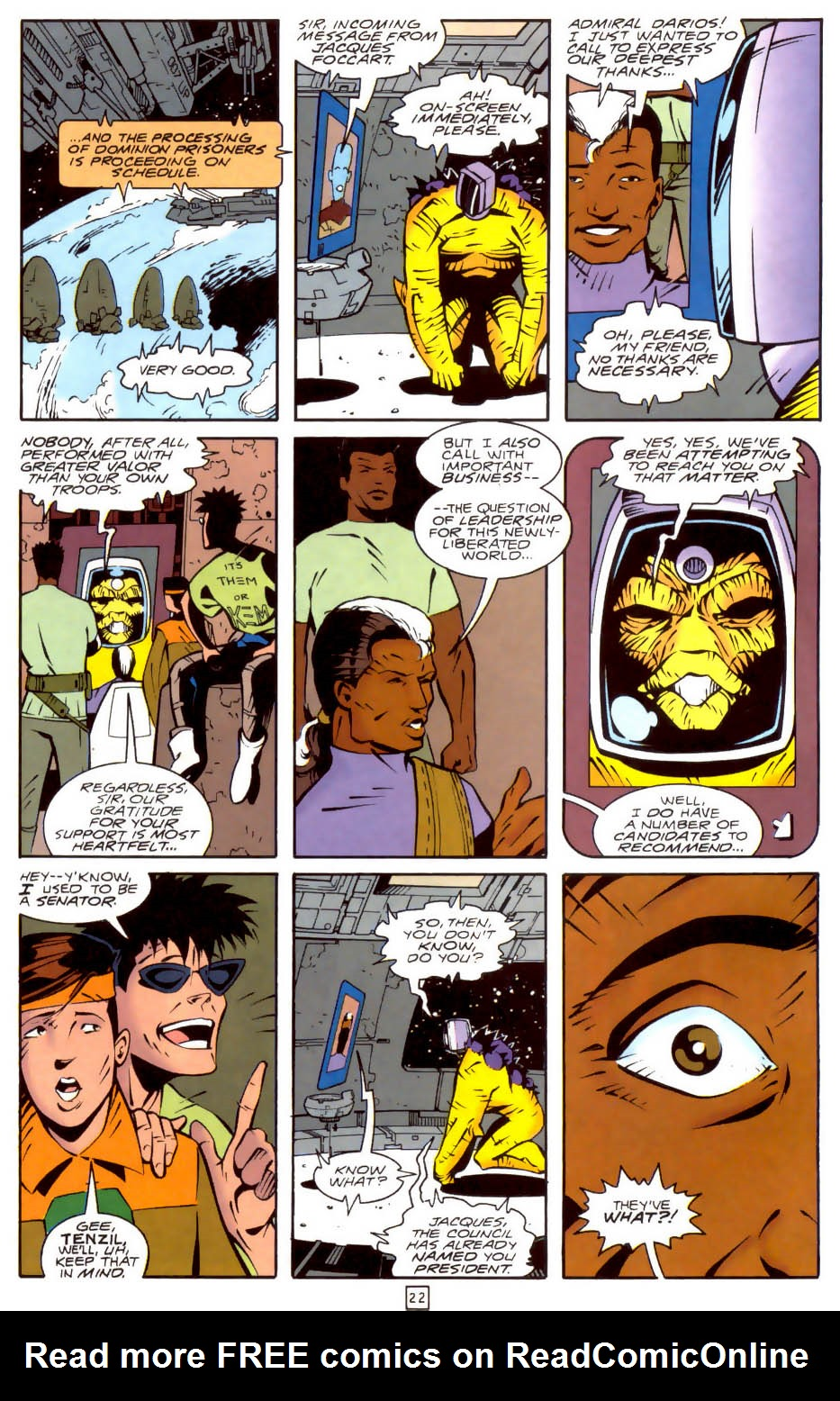 Legion of Super-Heroes (1989) 35 Page 22