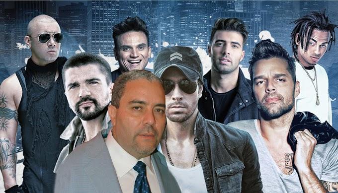 Félix Cabrera vuelve hacer historia en concierto con  Enrique Iglesias, Ricky Martin, Juanes y otras estrellas