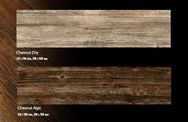 Homogenous Tile Venus Forest Collection Chesnut Dry, Chesnut Agic