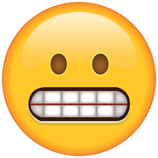 WhatsApp Grinmacing Emoji