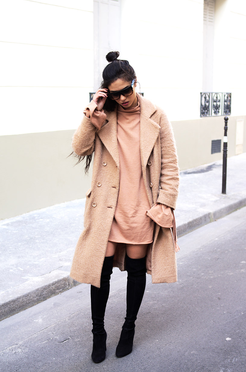 Elizabeth l camel street chic valentine's day outfit blog mode l Missguided Asos Stuart Weitzman l THEDEETSONE l http://thedeetsone.blogspot.fr