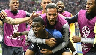 Η Γαλλία νέα Παγκόσμια Πρωταθλήτρια, κέρδισε 4-2 την Κροατία