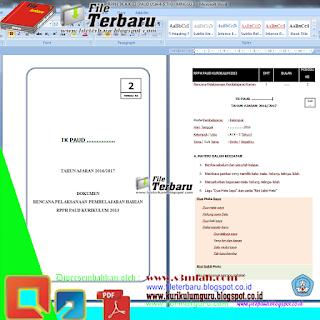 Download Contoh RPPH PAUD Kurikulum 2013 Minggu Ke 2 Semester 1 Gratis
