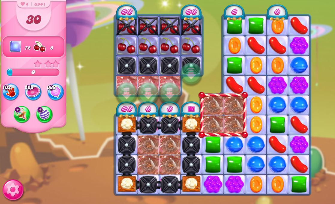 Candy Crush Saga level 6941