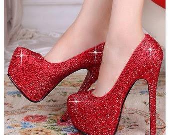 mejores zapatillas de deporte comprar bien como comprar Multinotas: Zapatos Rojos, Tacón Alto, Toda Ocasión