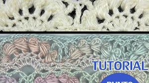 Cómo Tejer Punto Abanico Puff al Crochet / Tutoriales en video