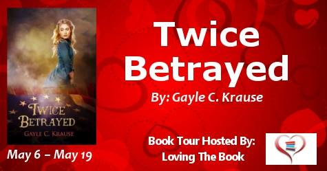 Blog Tour & My Book Review: TWICE BETRAYED