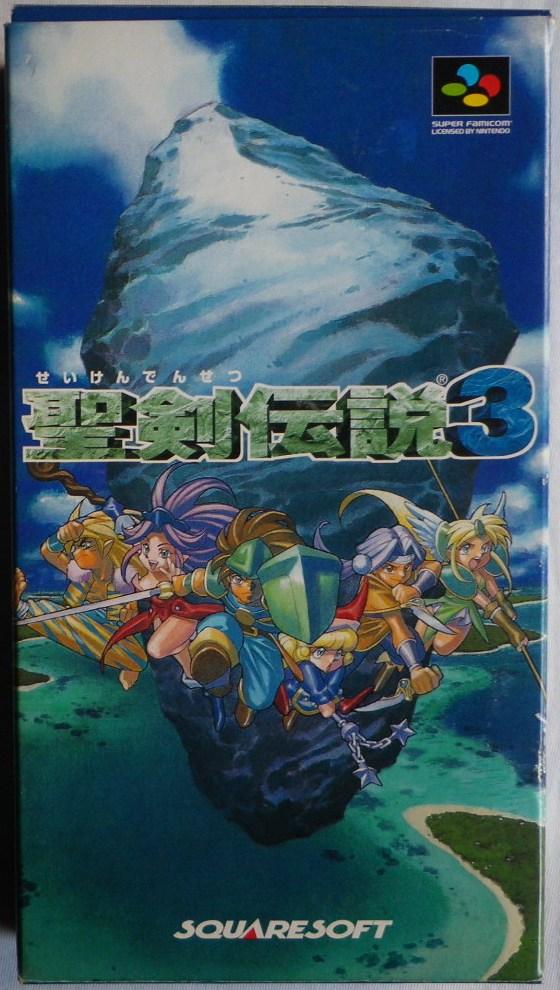 Seiken Densetsu 3 - Caja delante