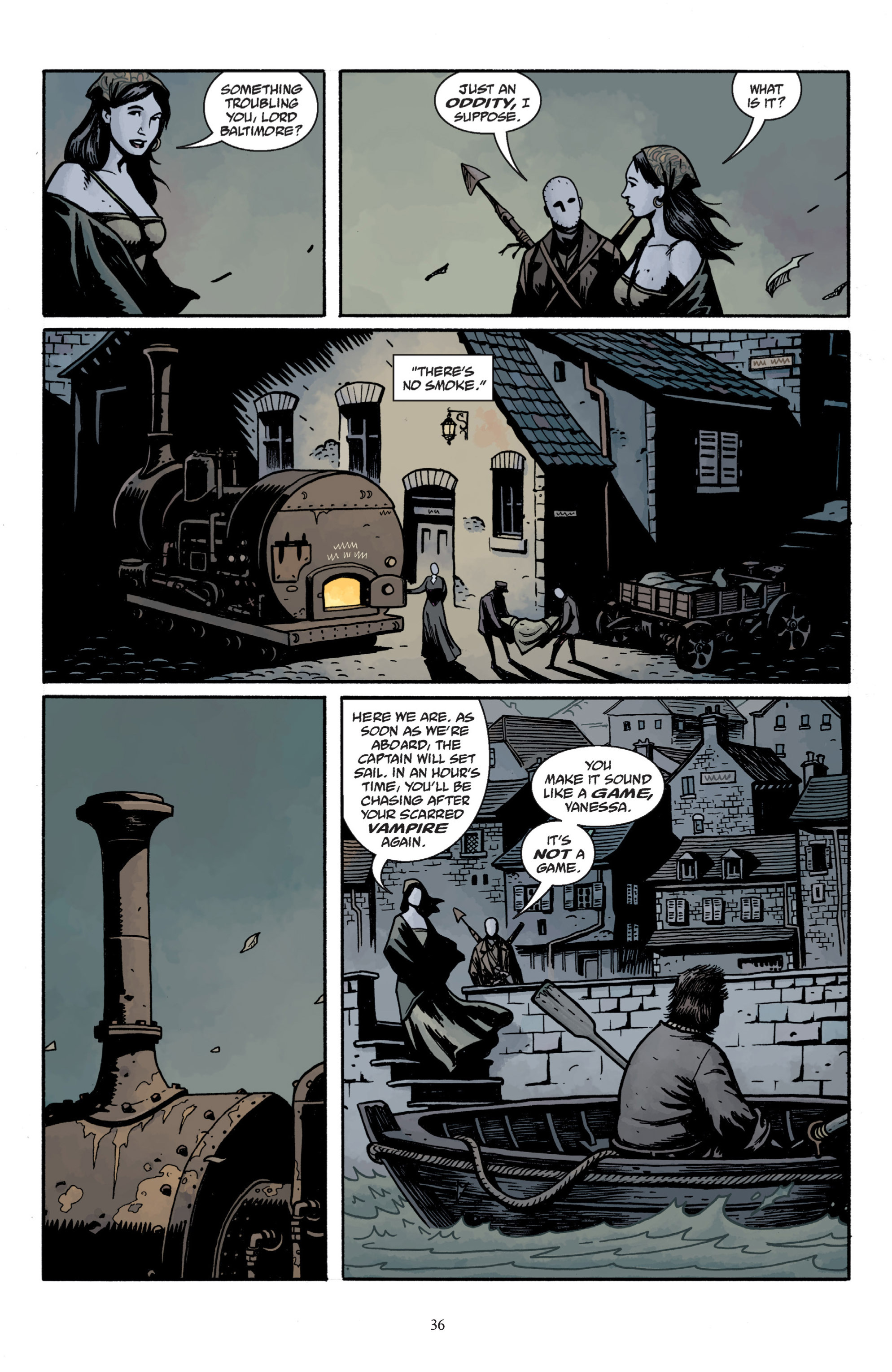 Read online Baltimore: The Plague Ships comic -  Issue # TPB - 38