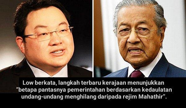 Rampas Equanimity: Jho Low persoal langkah Mahathir