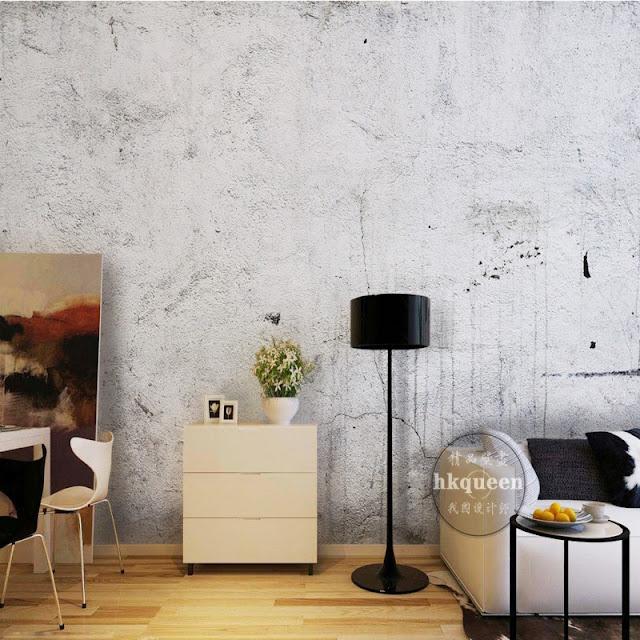 betongtapet ljusgrå tapet fondvägg fototapet concrete