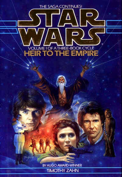 reflection review on Timothy Zahn's first Star Wars novel