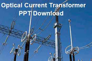 optical current transformer OCT ppt download