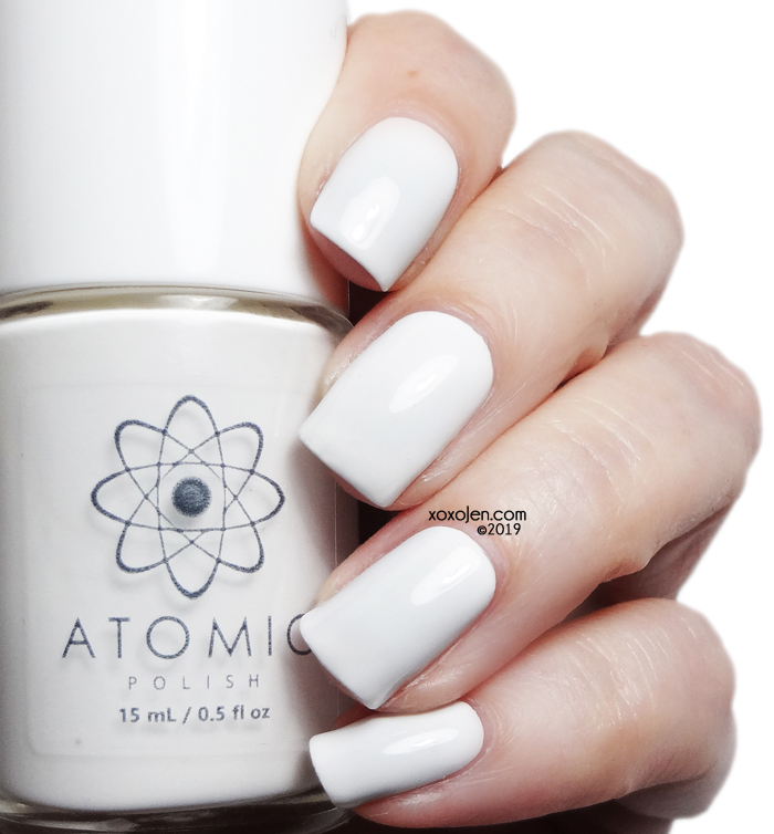 xoxoJen's swatch of Atomic Polish H (Hydrogen)