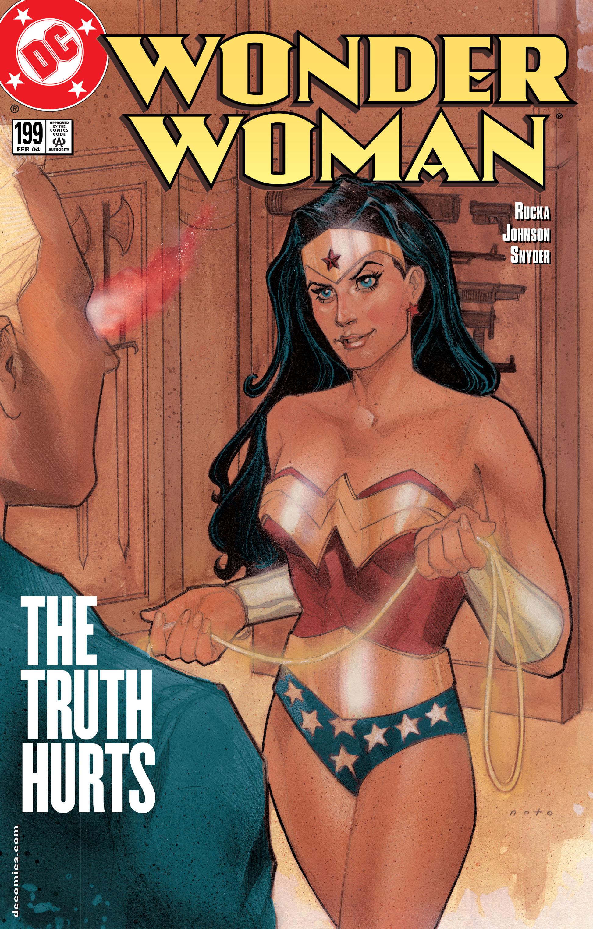 Read online Wonder Woman (1987) comic -  Issue #199 - 1