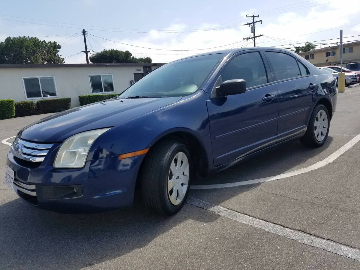 This lovely blue 2006 ford fusion se 5 speed for 2995 in costa mesa ca with only 122486 miles will scratch that itch