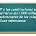 El PP y las constructoras se repartieron los 1.000 millones de sobrecostes de los colegios públicos valencianos