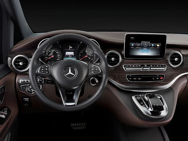 Mercedes Benz V-class 2018 interior Review