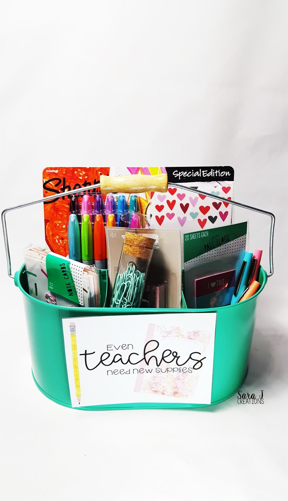 Classroom Equipment Ideas ~ Teacher appreciation gift ideas sara j creations