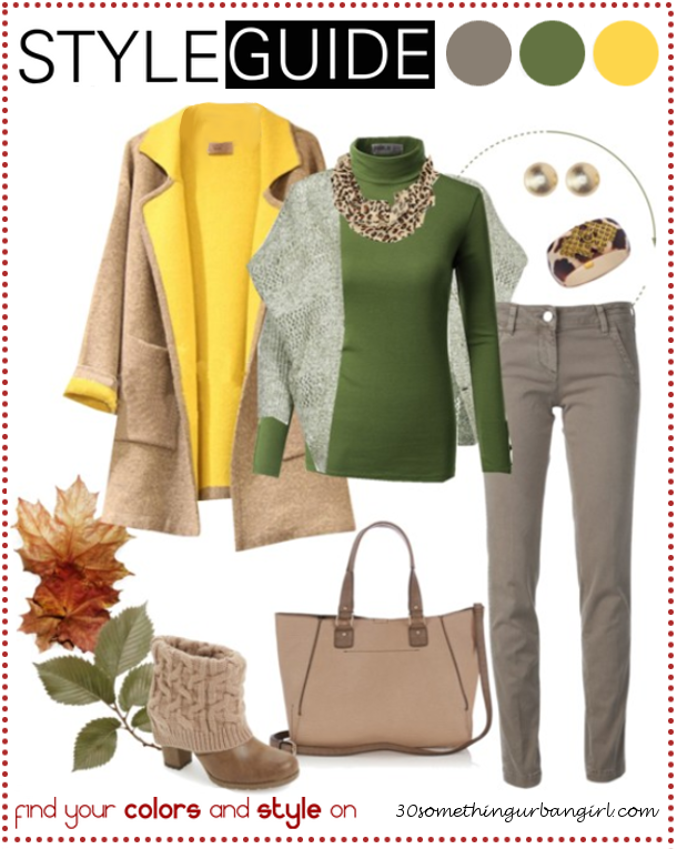 Bundle up for cold weather, casual outfit tip for Soft Autumns