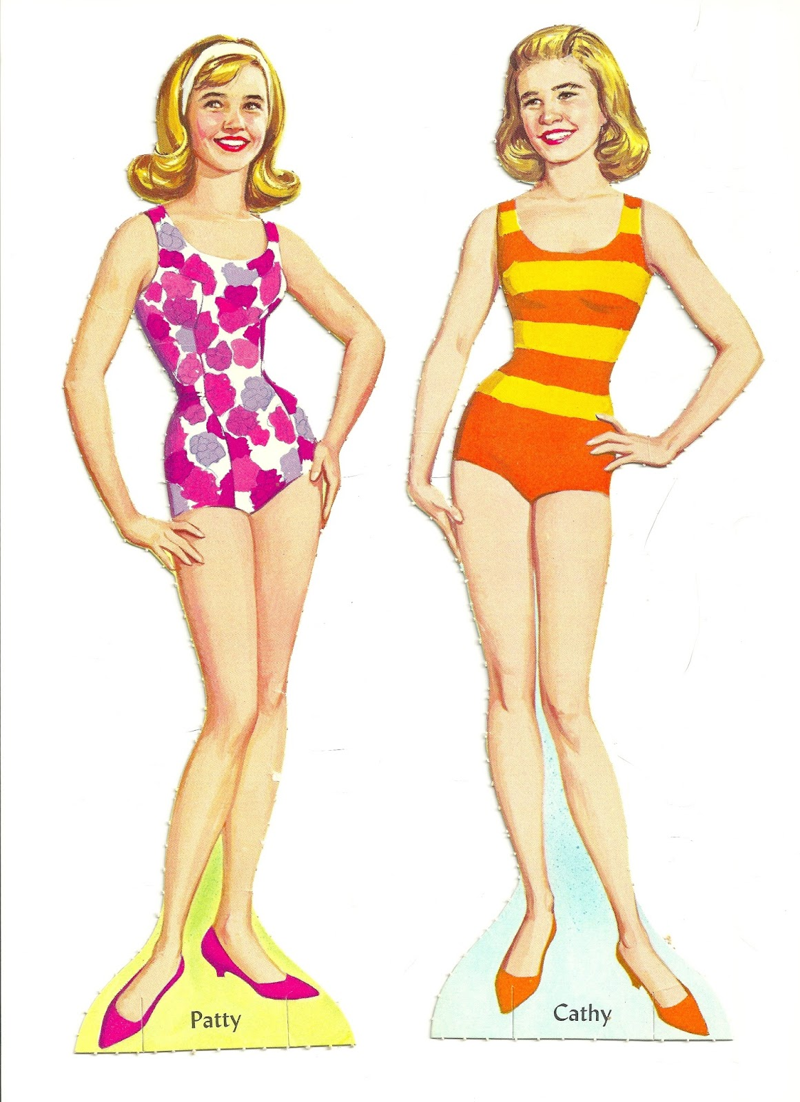 The Paper Collector Patty Duke Paper Dolls