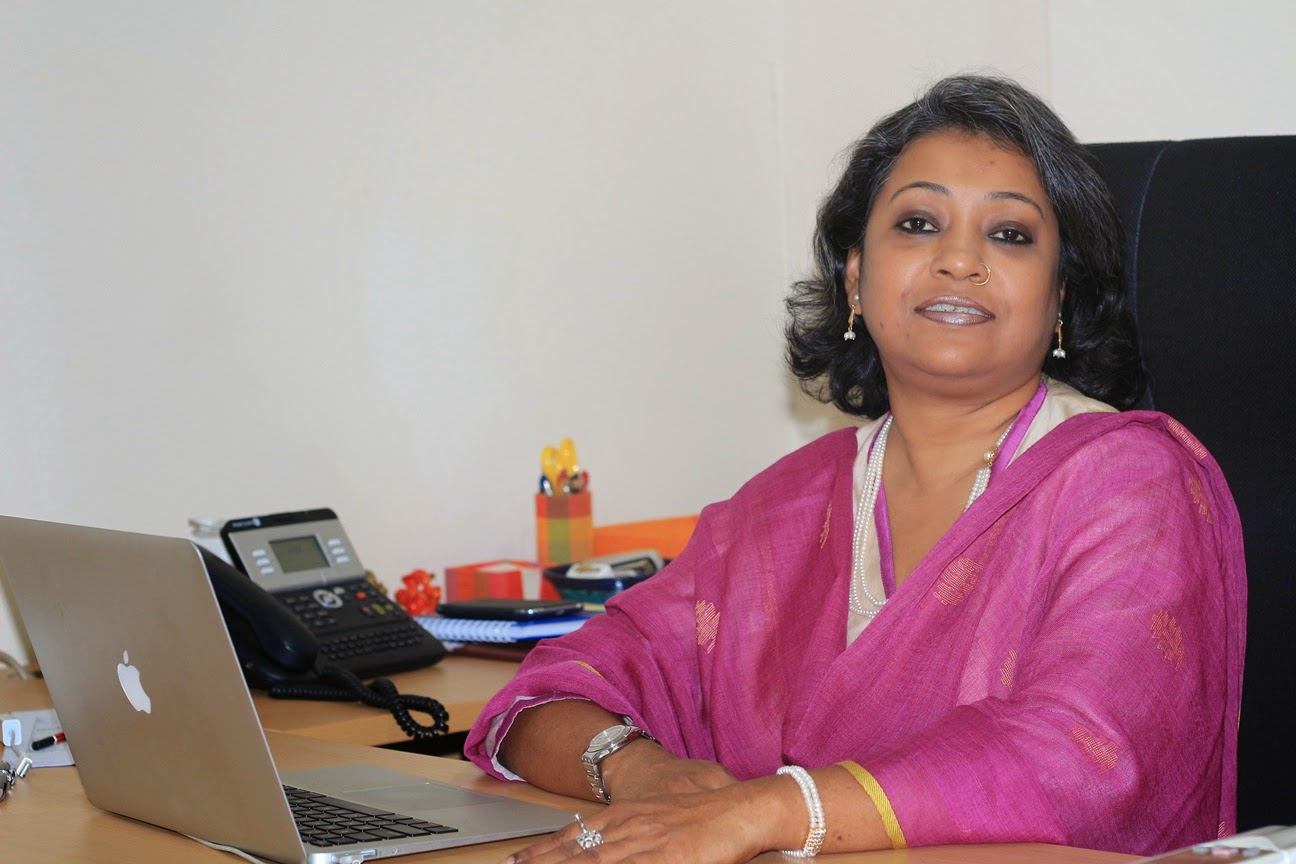 Jhumka Saha, Country Head, Mindshare Sri Lanka