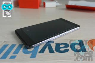 OnePlus X - Tampak depan