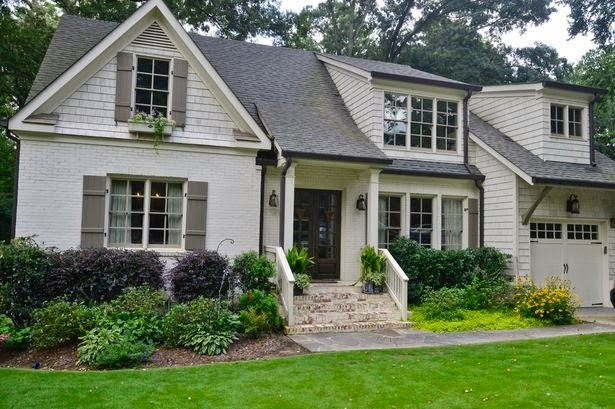 Sweet Chaos Home Exterior Paint Color Inspiration
