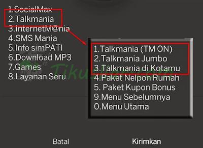 Cara TM SimPATI