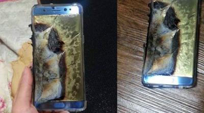 Galaxy Note 7 es retirado del mercado por quemar bateria