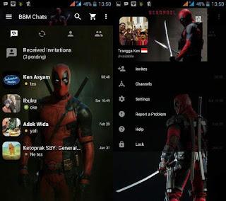 BBM Mod Deadpool