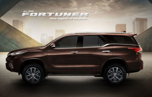2016 Toyota Fortuner Spotted [Update]