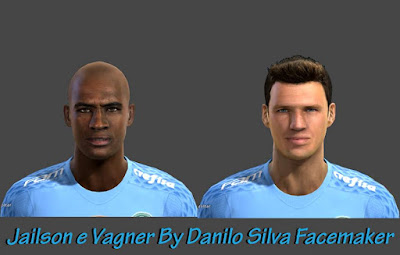 Faces Jailson e Vagner - Palmeiras By Danilo Silva Facemaker