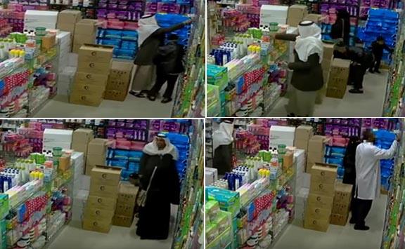 فيديو: عائلة من اللصوص تسرق صيدلية . حسبنا الله ونعم الوكيل