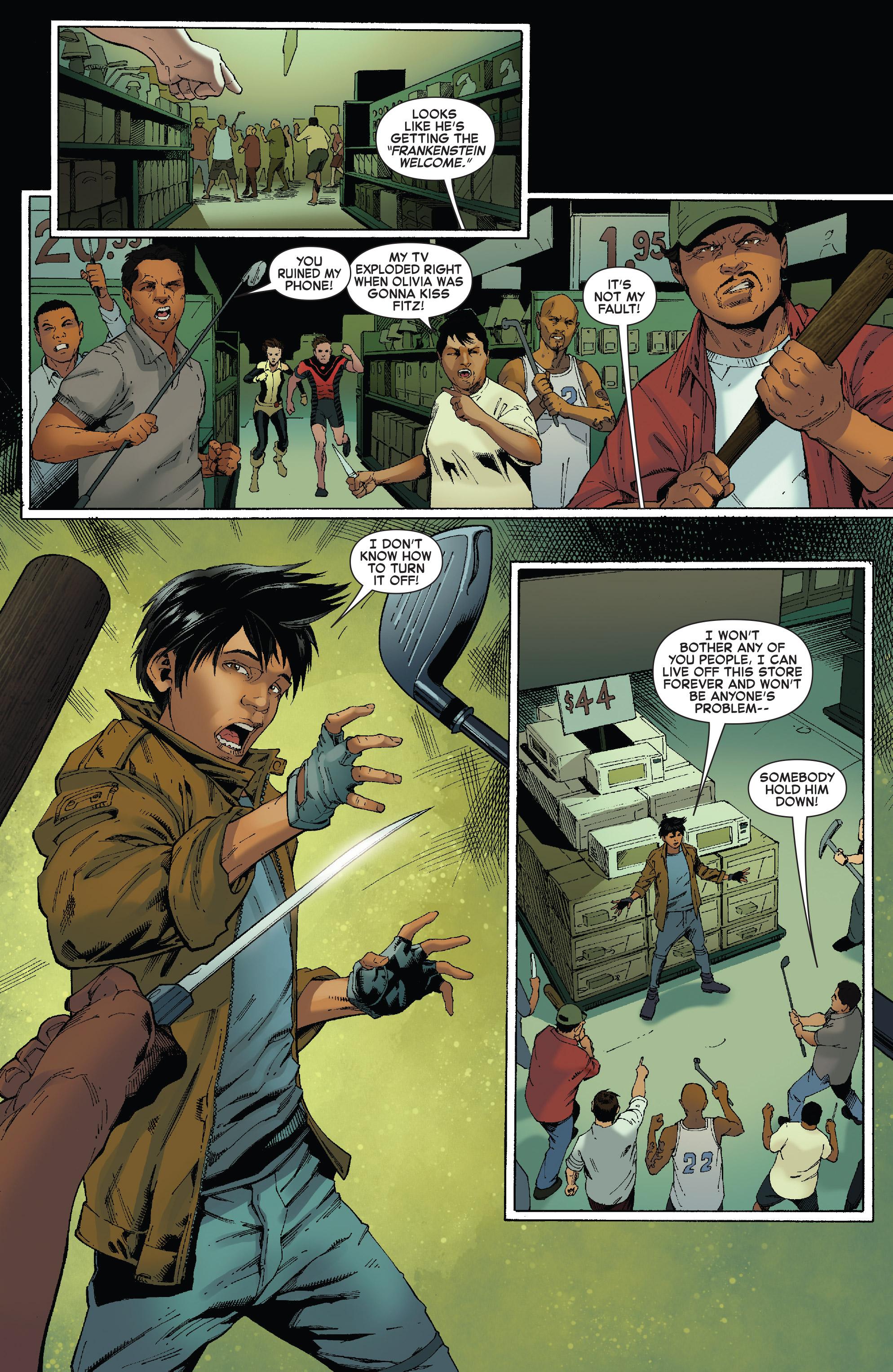 Read online Iceman (2017) comic -  Issue #2 - 9