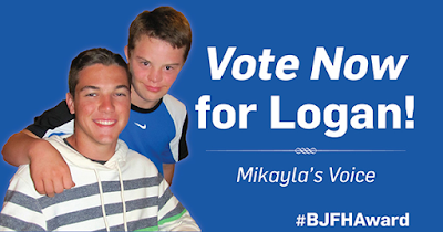 Your Vote Will Change a Life #BJFHAward #NASCAR