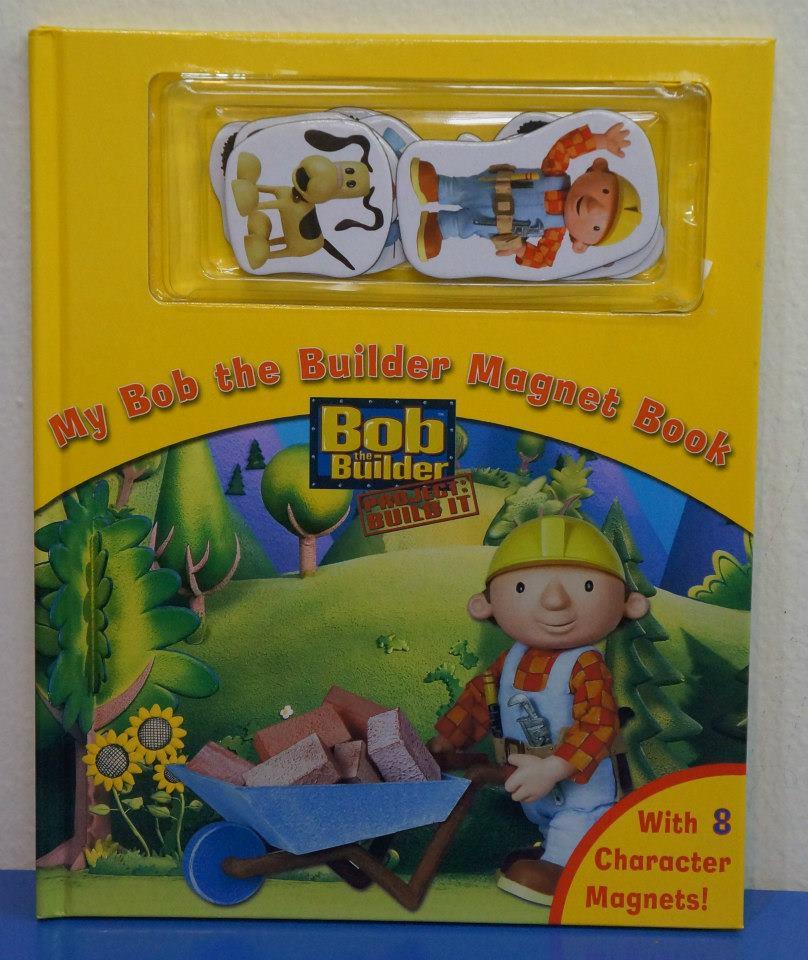 board book my bob the builder magnet book ninos shop
