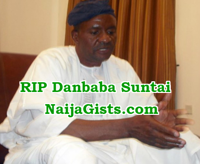danbaba suntai is dead