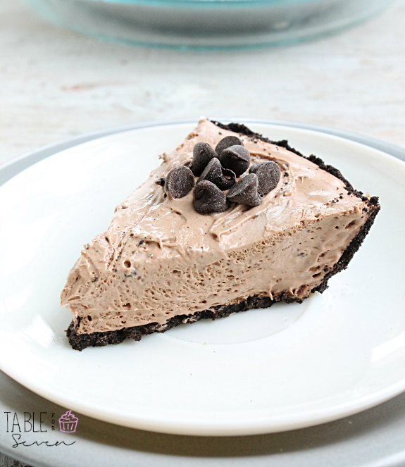 3 Ingredient No-Bake Hershey's Pie