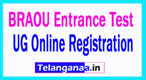 Dr.B.R.Ambedkar Open University BRAOU UG Online Registration