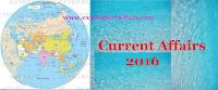 Current affairs- June 30,2016