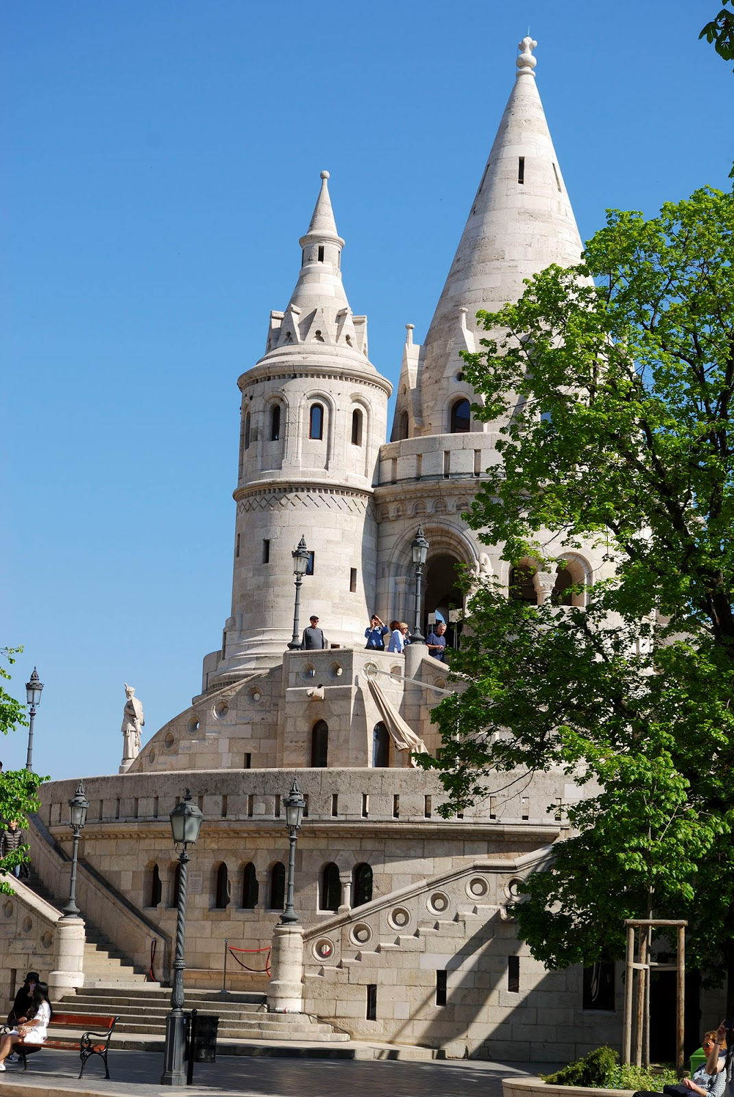 budapest guide itinerary instagram worthy spot sights landmarks hungary fisherman's bastion fairy tale tower